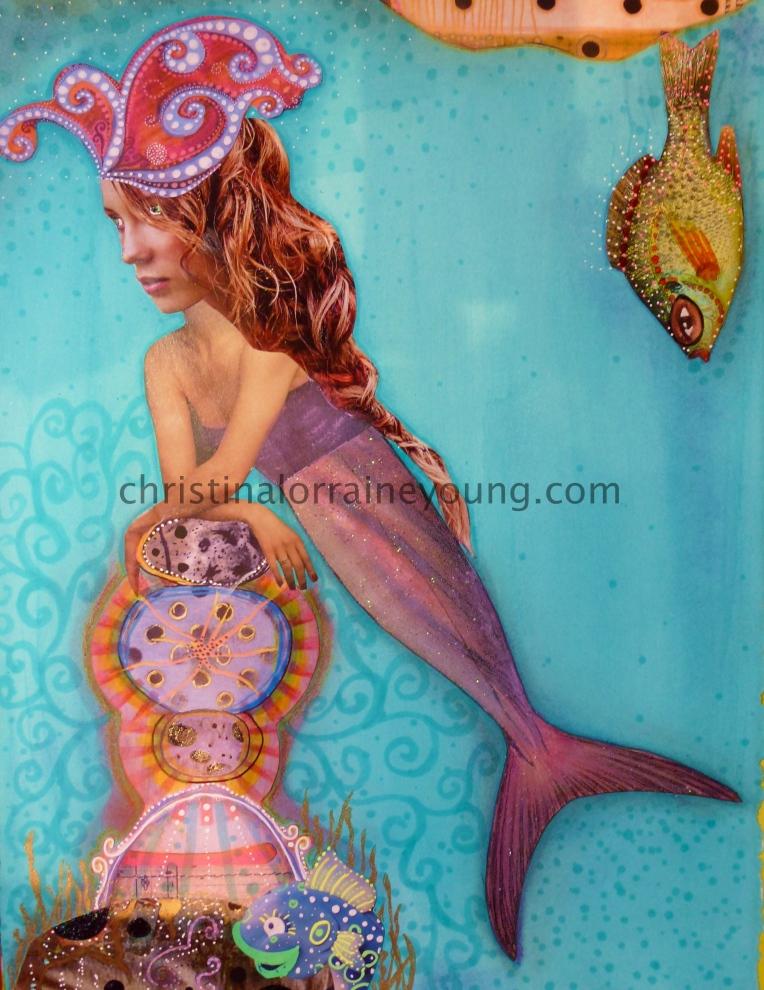 thoughtful mermaid 1
